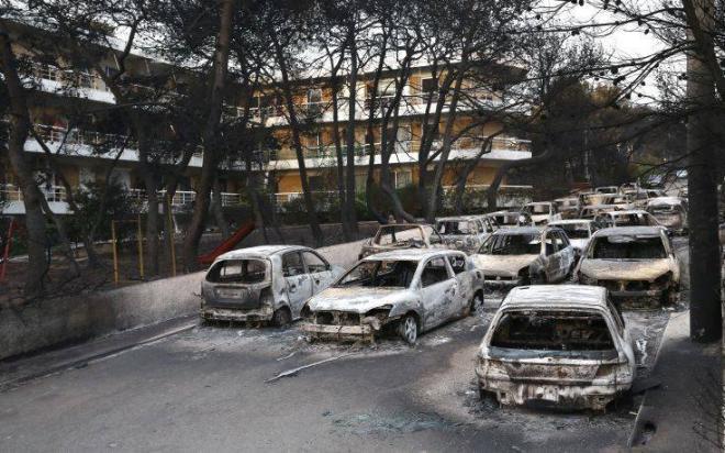 Εικόνες Αποκάλυψης μετά τη φωτιά στο Μάτι - ΦΩΤΟ | tempo24.news