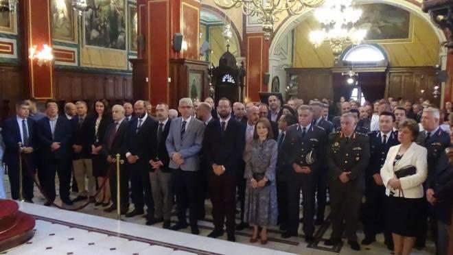 ΕΛ.ΑΣ - Πάτρα: Γιόρτασε σήμερα τον Προστάτη της, Άγιο Αρτέμιο - ΦΩΤΟ