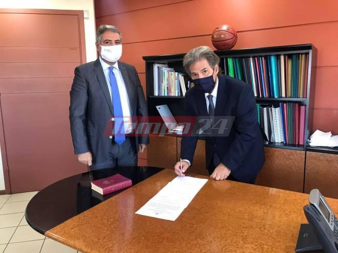 Πανεπιστημιακό Νοσοκομείο Ρίου Πατρών: Νέος αναπληρωτής Διοικητής ο Δημήτρης Μπάκος - Ορκίστηκε σήμερα στην 6η ΥΠΕ - ΦΩΤΟ