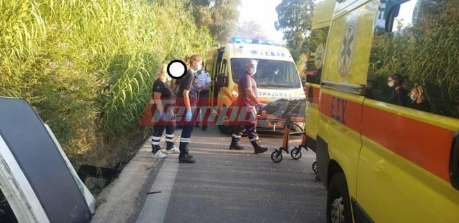 Πατρών - Αθηνών: ΤΡΑΓΩΔΙΑ - Θανατηφόρο το ένα από τα δύο τροχαία στην παλαιά εθνική οδό - Νεκρή μια 62χρονη γυναίκα - ΦΩΤΟ