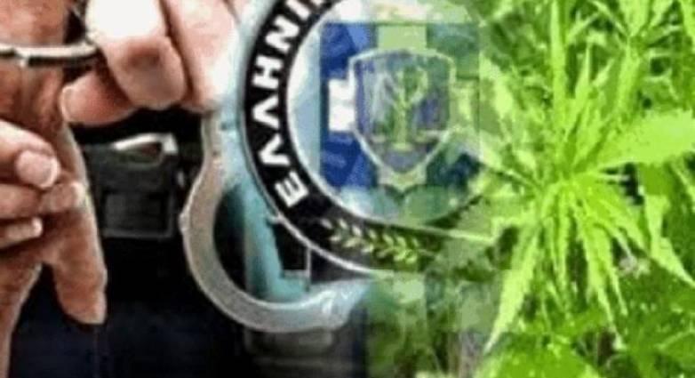 Σύλληψη στη Θήβα για ναρκωτικά